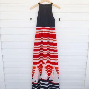 Kensie Sailboat Maxi Dress